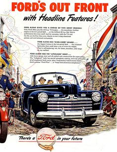 1946 ... campaigning Ford