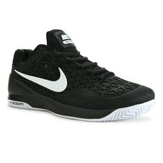 free shipping a18b1 d5230 Nike Zoom Cage 2 Mens Tennis Shoe, Black White, 705247 001   LearnToServeInTennis