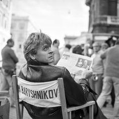 Mikhail Baryshnikov on the set of 'Dancers'. Arthur Elgort, Dark Angels, Dance It Out, Just Dance, Joe Biden, Coney Island, Mikhail Baryshnikov, Russian American, George Balanchine