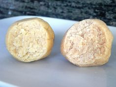 Cake Batter Balls: raw, vegan, high-protein, gluten/grain/soy/nut/seed/sugar free « Almost Vegan