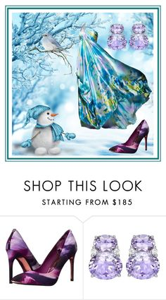 """""""Ice Queen 👸🏼"""" by klm62 ❤ liked on Polyvore featuring Ted Baker"""