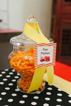 """idea Photo 1 of Firetruck, Fire Engine / Birthday """"Sound the Alarm- Jack Henry is Fireman Party, Firefighter Birthday, Fireman Sam, Food Truck Party, 4th Birthday Parties, 3rd Birthday, Birthday Ideas, Tart, Fire Engine"""