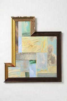 interestingly framed angular art