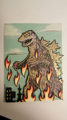 If you absolutely love health and life you'll will enjoy this website! Godzilla Party, Godzilla Birthday Party, Japanese Monster Movies, Godzilla Tattoo, Horror Monsters, Nerd Art, Inspirational Artwork, King Kong, Cartoon Drawings