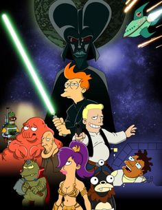 Futurama Star Wars - May the 4th be with you....