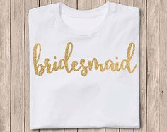 Diy Bridesmaid Iron On Vinyl Decal By Agitasworks