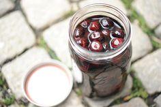 homemade marichino cherries