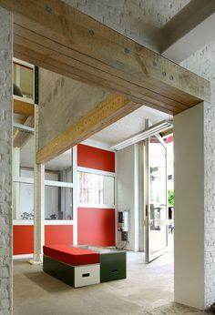 Het Toneelhuis  Offices, Antwerp / Architecten De Vylder Vinck Taillieu, 2008