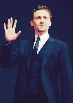 Tom Hiddleston makes me want to cry because I don't actually know him. :'(
