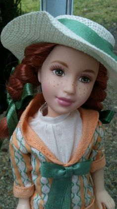 Anne from Anne of Green Gables Doll When I Dream I Read Series L.M. Montgomery G