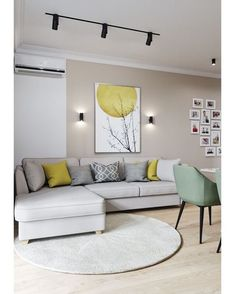Small Living Room Lighting Ideas Bright Living Room Lighting Ideas ideas living room modern 6 Must-try living room lighting ideas to create an elegant look Living Room Color Schemes, Living Room Grey, Home Living Room, Living Room Decor, Bright Living Rooms, Dining Room, Living Room Modern, Living Room Interior, Living Room Designs