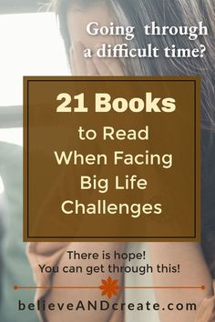 If you're going through a tough time or facing difficulties in your life right now that are overwhelming, get the help you need to maintain hope and get through this tough time when everything feels so hard.  Here's a list of 21 books that address many of life's most troubling and difficult challenges.  #strengthintoughtimes #gettingthroughdifficulttimes #staystrongwhenlifeishard #motivationwhenlifeishard #survivingdifficultlifechallenges #selfhelpbooks #inspiringbooks Development Quotes, Self Development, Personal Development, Motivational Books, Inspirational Books, Together Quotes, Yoga Books, Get Your Life, Best Books To Read