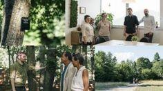 boschi, visitatori, targhetta