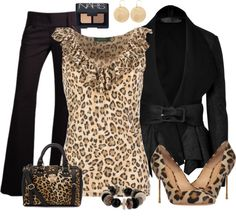 """""""Animal Print"""" by stay-at-home-mom on Polyvore"""