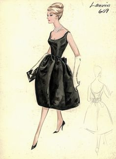 Lanvin Evening Dress by FIT Library Department of Special Collections, via Flickr