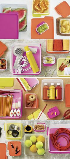 KeepTabs® 15-Pc. Set. Keep it colorful with storage essentials. Available through September 9, 2016.