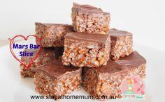 Mars Bar Slice   Stay at Home Mum