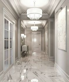 ✔ 49 discover ideas about home design 10 Home Room Design, Home Interior Design, Living Room Designs, Interior Decorating, House Design, Marble Interior, Classic Interior, Decorating Ideas, Flur Design