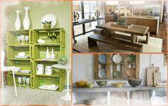 Pallets e caixotes de madeira na decoração – Tendência sustentável2