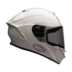 Bell Solid Adult Star Street Motorcycle Helmet – White / Large