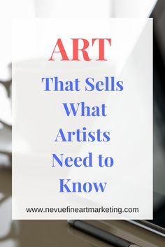 ART THAT SELLS - WHAT ARTISTS NEED TO KNOW Are you trying to sell more art? Is your studio becoming a storage area for unsold art? Are you struggling to find the most popular art that sells? In this article discover the best art that sells online. Sell My Art, Make Art, Buy Art, Craft Business, Creative Business, Business Tips, Business Marketing, Media Marketing, Digital Marketing