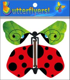 Our very cool new Flying Ladybug Butterflyers is  now available online!