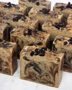 The tutorial for this coffee soap is now up on SoapQueen.com! It features coffee instead of water and coffee grounds for exfoliation. Scented with Espresso Fragrance Oil, it smells amazing ☕️