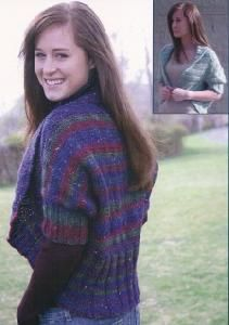 Fiber Trends AC 84 Shrug Your Shoulders Shrug Cardigan, Knitting Projects, Fiber, Turtle Neck, Trends, Yarns, Shawls, Sweaters, Country