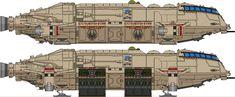 Meteor+Class+Dropship+-+First+Cylon+War+by+Kelso323.deviantart.com+on+@DeviantArt