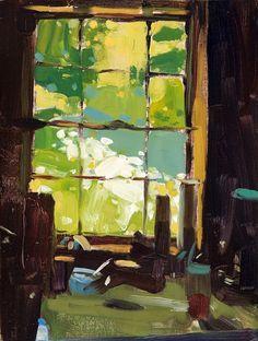 urgetocreate: Tollef Runquist, Kitchen Window Flowers, 2011