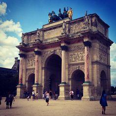 Arc de Triomphe du Carrousel tại Paris, Île-de-France