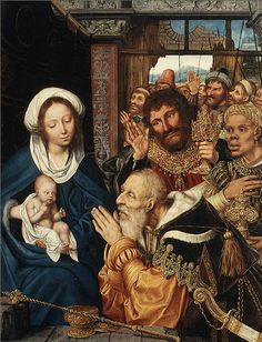 Quentin Massys (also Matsys or Metsys) (Netherlandish, 1465/66–1530), 1526, The Adoration of the Magi, Oil on wood.