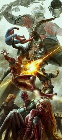 ArtStation – Civil War Fan Art, Jong Hwan – Visit to grab an amazing super hero shirt now on sale! ArtStation – Civil War Fan Art, Jong Hwan – Visit to grab an amazing super hero shirt now on sale! Marvel Dc Comics, Marvel Avengers, Ms Marvel, Marvel Films, Marvel Heroes, Captain Marvel, Avengers Fan Art, Dc Vs Marvel Characters, Avengers Cartoon