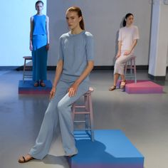 Our women's wear collection, The Poetry of Colour showcased at London Fashion Week, an inspirational collection of colour and texture Classic Elegance, Poetry, Elegant, Portrait, London Fashion, Blog, How To Wear, England, Colour