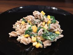 Healthy Baby Recipes - Baby led Weaning: Tuna, Spinach and Sweetcorn Pasta