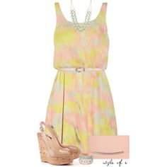 A fashion look from April 2014 featuring Alice + Olivia dresses, Christian Louboutin shoes and Fiebiger clutches. Browse and shop related looks.