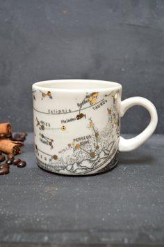 Taurus Aries Pisces Capricorn Zodiac Ceramic Cup Handmade