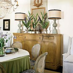 Buffet!! Classic Southern Home: Buy Only What You Love < Classic Southern Home - Southern Living