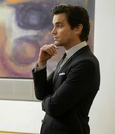 Matt as Neal Caffrey on White Collar