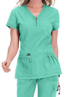 Scrubs and Beyond Cute Scrubs Uniform, Scrubs Outfit, Stylish Scrubs, Iranian Women Fashion, Medical Uniforms, Uniform Design, Medical Scrubs, Scrub Tops, Work Fashion