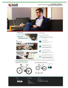 WebSite JOJOB Soluções - Setembro ~ Novembro de 2015