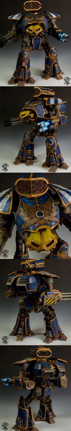 Honorum WarRunners Reaver Class Titan
