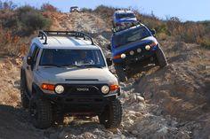 Toyota FJ Cruisers