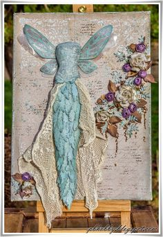 Winter Fairy - Mixed Media Place challenge - Soulmates collection