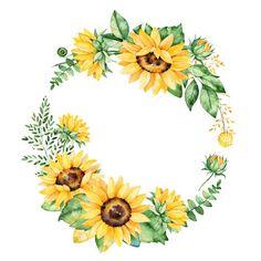 Ảnh bìa quà lưu niệm hoa văn đầy màu sắc với hoa hướng dương | Thư viện stock vector đẹp miễn phí