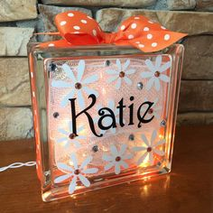 Daisies GemLight Personalized Home Decor Accessories by GemLights