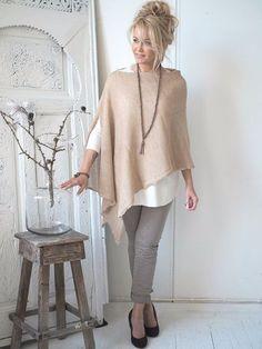 New Sewing Clothes Women Tunics Stitches Ideas Fashion Over 50, Look Fashion, Autumn Fashion, Womens Fashion, Fashion Tips, French Fashion, Fashion Ideas, Fashion Design, Mode Hippie