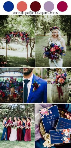 bright cobalt blue,red and orange summer and fall jewel tone wedding colors - . bright cobalt blue,red and orange summer and fall jewel tone wedding colors - Wedding ideas - Cobalt Blue Weddings, Orange Weddings, Jewel Tone Wedding, Burgundy Wedding, Wedding Blue, Navy Blue Wedding Dresses, Sunset Wedding Theme, Cobalt Wedding, Wedding Flowers