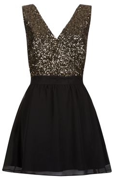 Primark AW13 Collection: Sequin Skater Dress, £17 | Look