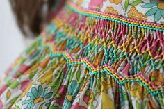Hilde by Citronille | Liberty Poppy and Daisy